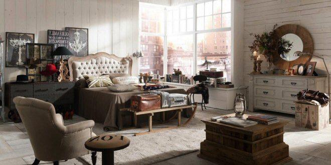 Come ricreare un\'atmosfera in stile vintage per la camera da letto ...