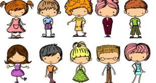 bambini disegni vestiti da indossare
