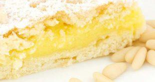Crostata crema di pinoli