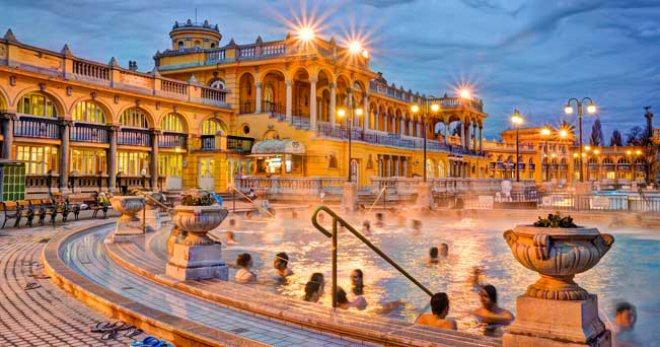 Visitare Budapest Terme