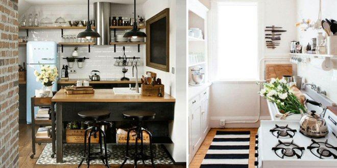 Come arredare una cucina piccola - Arredare una piccola casa ...