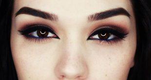 Come truccare gli occhi neri