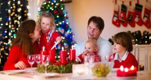 le famiglie non vanno al ristorante a Natale