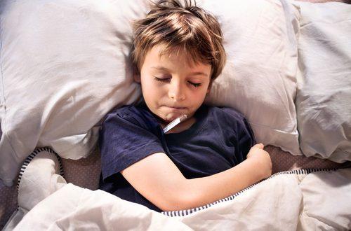 come curare l'influenza nei bambini