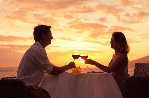 cena di coppia per scoprire personalità