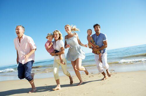 Famiglia: in viaggio con mamma e papà