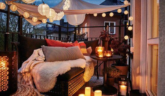 Balconi e terrazze in autunno: alcuni consigli