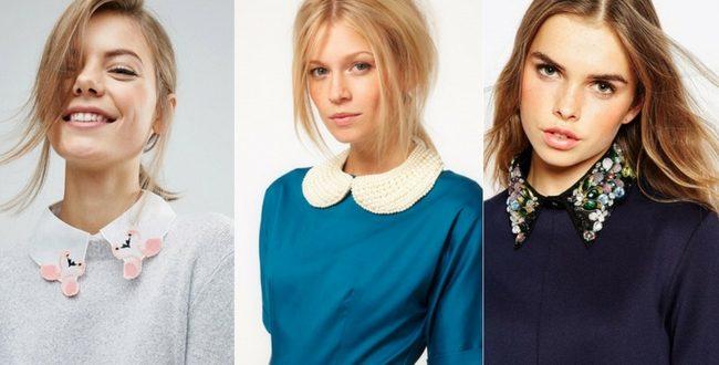 Torna di moda il colletto: un escamotage per rinnovare il guardaroba