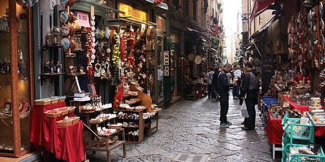 Mercatino Natale Napoli 2017