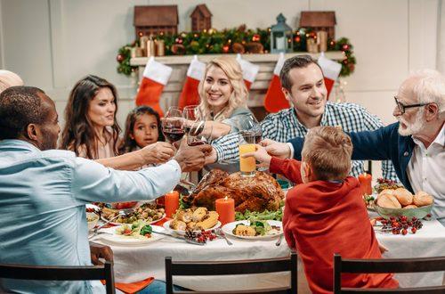 pranzo di famiglia a natale 25 dicembre