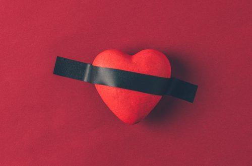 cuore sbarrato san valentino